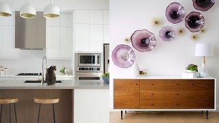 Interior Design – A Bright Mid-Century Modern Home