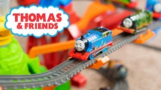 Thomas and Friends TrackMaster Toy Train Sky-High Bridge Jump Playset Toys for Boys Kinder Playtime