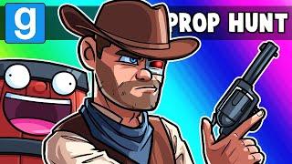 Gmod Prop Hunt NICE Moments - Nogla Loves his Girlfriend! (Garry's Mod)
