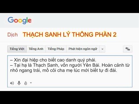 Chị google kể chuyện bựa| #2 Thạch Sanh Lý thông P2