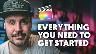 Get Started With FINAL CUT PRO X - A Crash Course Beginners Guide To FCPX