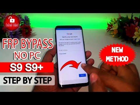 ALL Samsung OREO FRP ByPass 8 0 8 1 - C9 PRO S8 S8+ S9 S9+