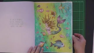 Colouring Book Review Let It Go With Tips And Coloured Pages