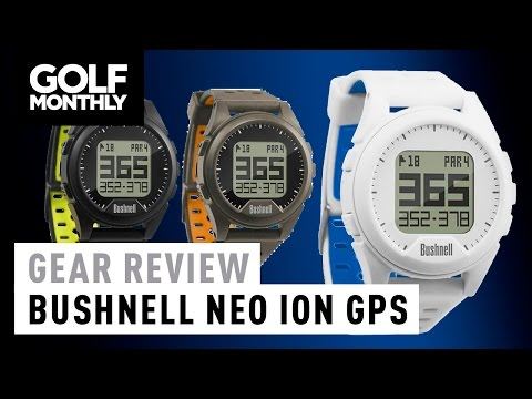 Bushnell Neo iON GPS Watch Review