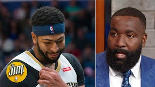 Anthony Davis' shoulder injury dates back to when I was his teammate - Kendrick Perkins   The Jump