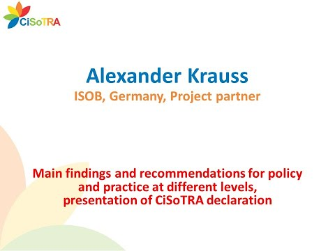 Main findings and recommendations for policy and practice