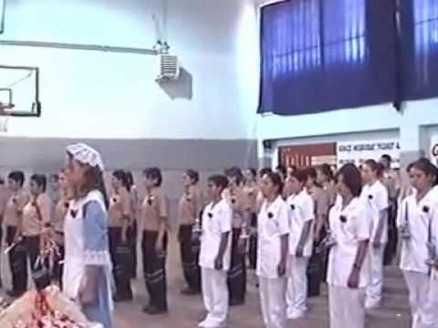 çanakkale sağlık meslek lisesi 2003-2004 mezuniyet töreni