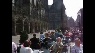 preview picture of video 'The Old Marketplace of Bremen Northern Germany'