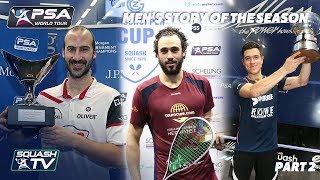 Squash: Story of the Season - 2017/18 Men