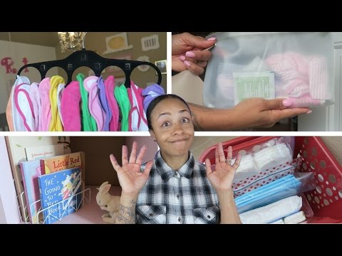 Dollar Store - Baby Edition - DIY Organization Ideas