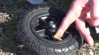 Nordic Skate - Pumpa luftgummihjul