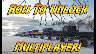 How To Unlock Online In Forza Horizon 4! How To Play With Friends Online!