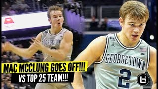 "Mac McClung GOES OFF vs Marquette!! Proves Haters Wrong AGAIN! ""You Going to Georgetown To Sit!"" LOL"