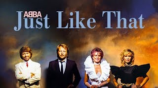 ABBA Just Like That (TYFTM VERSION)
