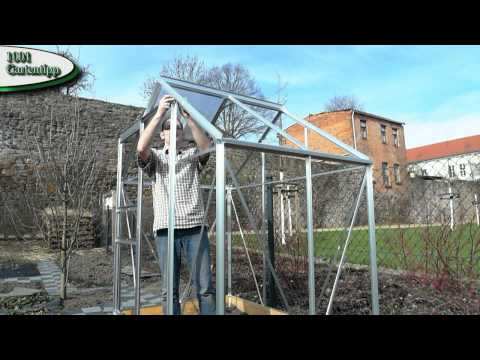 Gartentipp April 0404 Gewächshaus selber aufbauen , Anleitung