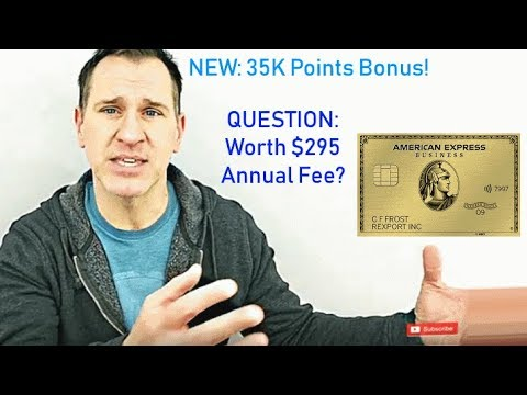 American Express Business Gold Card - 2019 Updated Review