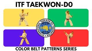 ITF Taekwon-Do Color Belt Patterns Series   Chon Ji - Choong Moo