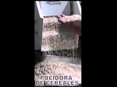 pulidora de cereales