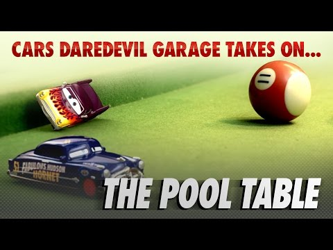 Disney Pixar Cars | The Die-cast Series Ep. 4 | Takes on the Pool Table