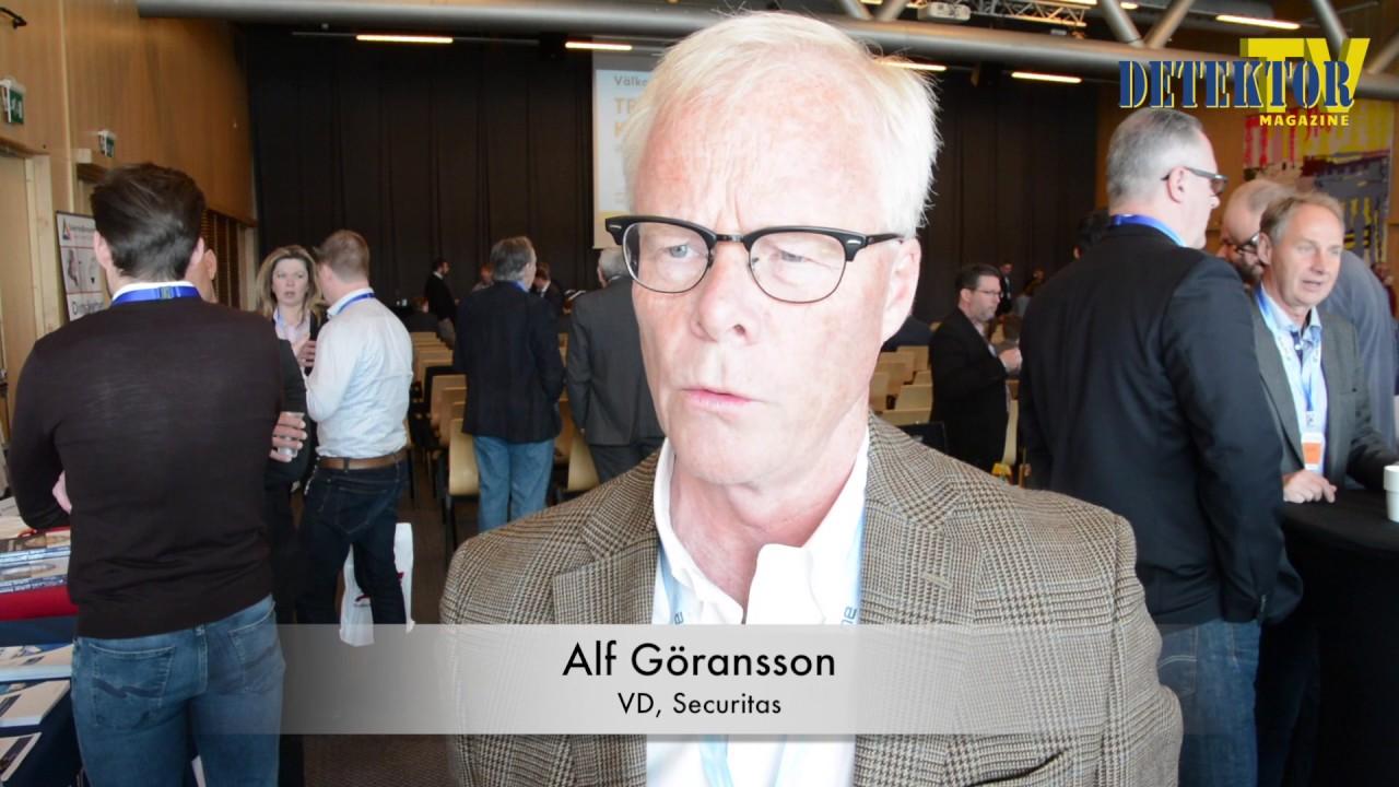 Webb-tv: Alf Göransson om väktare vs teknik