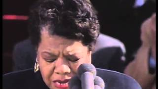 Great Speeches by Women: Maya Angelou, On the Pulse of Morning