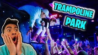 OUR 1st SHOW EVER at TRAMPOLINE PARK!