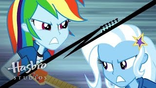 "MLP: Equestria Girls - Rainbow Rocks EXCLUSIVE Short - ""Guitar Centered"""