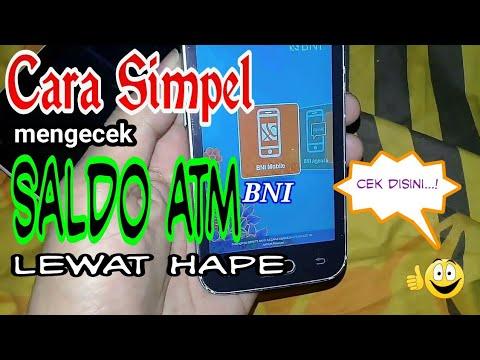 Cara Cek Saldo ATM BNI Lewat Hp di Android