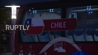 Russia: Chile retires for the night after beating Portugal in Confederations Cup semi-final