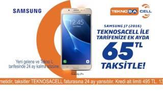TEKNOSACELL Samsung Galaxy J7 Kampanyası