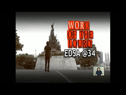 [News5]  #WordoftheLourd | EDSA @34