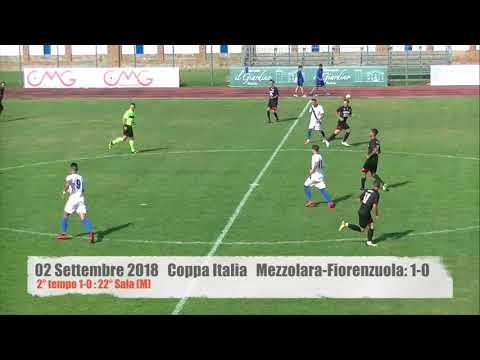 Preview video 2018-09-02 Coppa Italia: Mezzolara - Fiorenzuola: 1-0