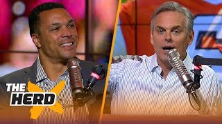 Tony Gonzalez on Cam facing criticism, challenges for Jon Gruden and Baker Mayfield | NFL | THE HERD