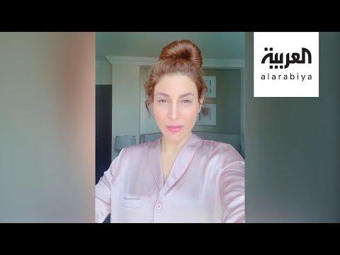 العرب اليوم - شاهد: يارا تغني أونلاين وملايين المشاهدات لتامر حسني والشاب خالد