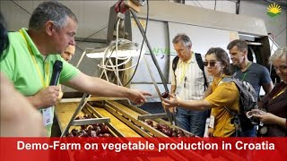 "Vegetable production in Croatia: The Demonstration Farm ""Grunt"" presented by Vladimir Bais"