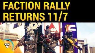Destiny 2: Faction Rally Guide