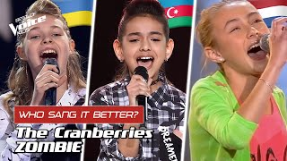 Who Sang The Cranberries Zombie Better? 🧟‍♂️🧟‍♀️ | The Voice Kids