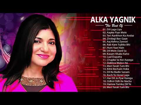 Download ALKA YAGNIK Hit SOngs | Best Of Alka Yagnik - Latest Bollywood Hindi Songs / Golden Hits HD Mp4 3GP Video and MP3
