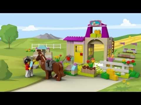 Vidéo LEGO Juniors 10674 : Grande boîte du centre équestre