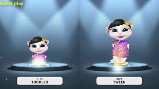 My Talking Angela Baby VS Kid SIZE Gameplay Make For Kid