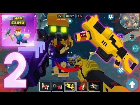 Mad GunZ - Industrial Gun - Gameplay Part 2