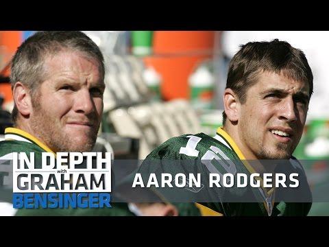 Aaron Rodgers on Brett Favre: I kept my mouth shut