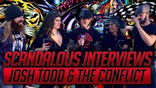 Josh Todd & The Conflict, Josh Todd interview with Scandalous