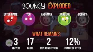 Exploding Kittens® Sample game play