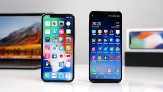 Apple iPhone X vs. Samsung Galaxy S8 (Deutsch) | SwagTab