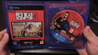 Игра red dead redemption 2 распаковка на PS4