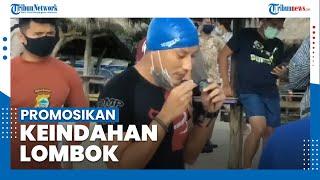 Saat Sandiaga Uno Promosikan Keindahan Alam Lombok dengan Triatlon