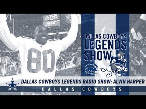 Dallas Cowboys Legends Radio Show: Alvin Harper | Dallas Cowboys 2018