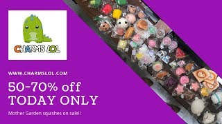 All Our Mother Garden Squishies 50-70% off TODAY ONLY | CharmsLOL