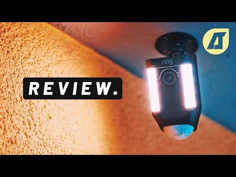 Ring Spotlight Cam Battery Review: Überwachungskamera ohne Kabel! - Deutsch